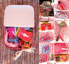 Wedding Idea: First aid kit for the bride- Hochzeitsidee: Erste-Hilfe-Koffer für die Braut If at some point I may be a maid of honor :] Crazy after wedding: emergency case for the bride of ProjectPinpoint Wedding With Kids, Sister Wedding, Perfect Wedding, Dream Wedding, Wedding Games, Wedding Planning, Shower Party, Bridal Shower, Wedding Planer