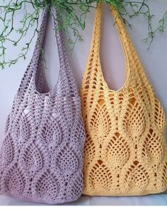 Crochet Pineapple Bag by aliabklynhandmade on EtsyProdukty podobne do Crochet Pineapple Tote Bag w Etsy Crochet Beach Bags, Crochet Market Bag, Crochet Tote, Crochet Handbags, Crochet Purses, Filet Crochet, Knit Crochet, Crochet Granny, Afghan Crochet Patterns
