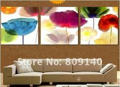 free shipping painting oil painting abstract Flower Elegant Beauty ...