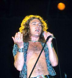 Robert Plant, Led Zeppelin, Los Angeles, June 1977, by Jeffrey Mayer/Getty