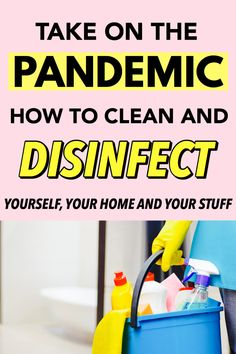 Cleaning And Disinfecting Tips For A Pandemic – Steph Social - Top-Trends Homestead Survival, Survival Prepping, Survival Skills, Urban Survival, Survival Food, Natural Disinfectant, Disinfectant Spray, Homemade Disinfecting Wipes, Deep Cleaning Tips