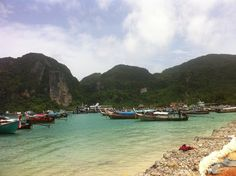 Koh Phi Phi Islands: A Complete Travel Guide - The Journey Junkie Visit Thailand, Thailand Travel, Asia Travel, Thailand Adventure, Beach Adventure, Quick Travel, Greece Photography, Phi Phi Island, Backpacking Asia