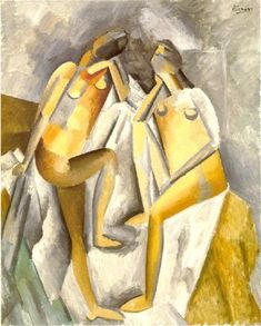 Pablo Picasso (1881-1973) was een Spaans kunstschilder, tekenaar, beeldhouwer, grafisch kunstenaar, sieraadontwerper en keramist. Hij was een van de bekendste Spaanse kunstschilders en experimenteerde constant met nieuwe technieken. Samen met Georges Braque wordt Picasso gezien als uitvinder van het kubisme.