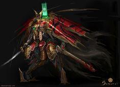 Samurai - Mechanical Samurai Nobunaga Unit by emersontung.deviantart.com on @DeviantArt