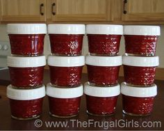 Easy Freezer Jam Recipe… did you get that it's actually easy? YUM!