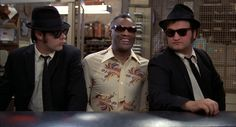 The Blues Brothers with Ray Charles