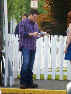 Christian Kane on the set of The Librarians-From The Librarians- Added by Leenz Kamandan