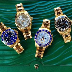 Golden Sunday SUBMARINER Ref 116618LB SKY-DWELLER Ref 326938 YACHTMASTER... Rolex Watches collection