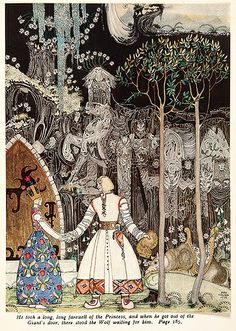 Kay Nielsen. East of the Sun and West of the Moon.