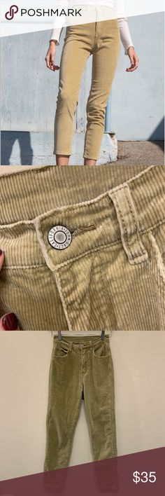 faf9f59f4de7d Brandy Melville Jane Corduroy Pants Bought from Depop but they don t fit me  right