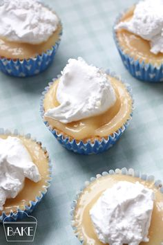 Jennys Lemon Meringue Cupcakes