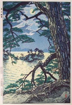 Shiro Kasamatsu - Moon over Matsushima (1954)  http://japantourist.jp/view/matsushima