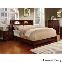 Furniture of America Clement 3-piece Platform Bedroom Set - Overstock™ Shopping - Big Discounts on Furniture of America Bedroom Sets