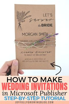 New Free of Charge Bridal Shower Invitations diy Ideas This bride's relatives and buddies look ahead to meeting at some sort of wedding planning shower in order to r. Discount Wedding Invitations, Diy Invitations, Invites, Invitations Online, Simple Bridal Shower, Bridal Shower Rustic, Bridal Shower Invitation Wording, Diy Wedding Shower Invitations, Make Your Own Wedding Invitations