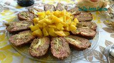 polpettone-ripieno-di-frittata-ai-carciofi Zia, Antipasto, Frittata, Fett, Meatloaf, Mashed Potatoes, Ethnic Recipes, Prosciutto Cotto, Olive