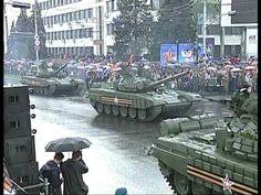 Парад Победы в Донецке. 9 мая 2015 года (чистый звук) - YouTube