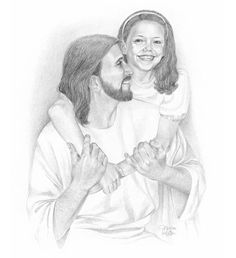 sketches of Jesus with children Jesus Laughing, Jesus Drawings, Pencil Drawings, Pictures Of Jesus Christ, Jesus Pics, Padre Celestial, Jesus Art, God Jesus, Christian Artwork