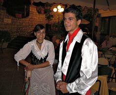 Taormina - Traditional Sicilian Costumes  #TuscanyAgriturismoGiratola