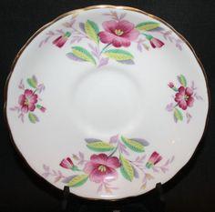 "Remembrance Series Princess Anne Rose Plate- Fine Bone China - England  4 1/2"""
