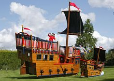 Pirate Playsets Plans | Pirate Playgrounds & Areas