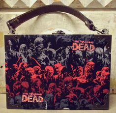 SOLD The Walking Dead Repurposed Cigar Box Purse by TheAlteredBox