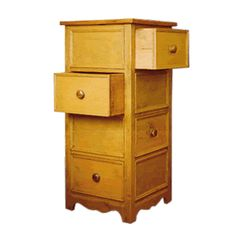 A unique and stylish corner drawer chest can solve your space saving bedrooms needs. How about two drawers for you and two drawers for your spouse?
