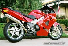 brian tinkler's 2001 Honda VFR 800