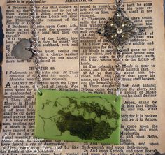 Bride Of Frankenstein Charm Necklace by Ugly by uglyartdotnet, $35.00
