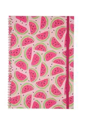 a4 spinout notebook, WATERMELON PATTERN | by Typo