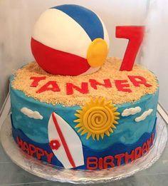 Easy Cake for Pool Party Easy Homemade Summer Birthday Cake Ideas