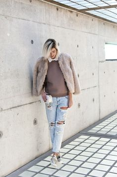 NUDES & DISTRESSED JEANS - Connected to Fashion | Creators of Desire