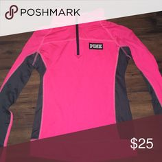 ✨PINK ZIPUP✨ Still in great condition. Worn a couple times PINK Victoria's Secret Tops Sweatshirts & Hoodies