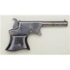 """Remington Vest Pocket single shot derringer,  .22 cal., 3-1/4"""" barrel, blue finish, wood  grips,"""