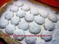 Greek Christmas, Greek Cookies, Shortbread, Ants, Sweet Recipes, Blueberry, Almond, Favorite Recipes, Sweets