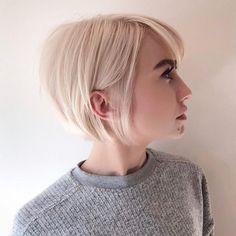 "4,441 gilla-markeringar, 36 kommentarer - Global Hair Community (@hairbrained_official) på Instagram: ""A blonde bob is always a strong choice @grahamnation #hairbrained #crafthairdresser"""