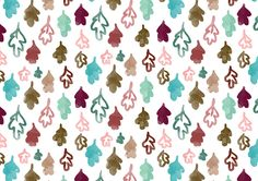 recursos molongos: 8 estampados otoñales | free printable 8 autumn patterns