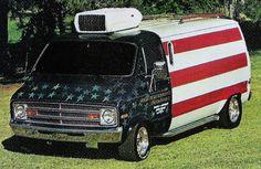 Old Glory Dodge Van | Flickr - Photo Sharing!