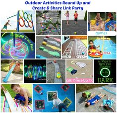 Outdoor Activities– check out these fun ideas and share your own!