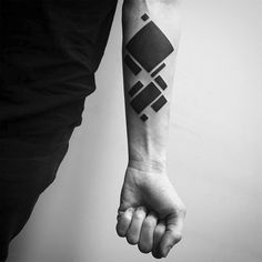 """Moscow-based tattoo artist Stanislaw Wilczynski produces shape-centric imagery that is born out of the Digimatism movement. Digimatism, a combination of the words """"digital"""" and """"suprematism,"""" describes his bold abstract assemblages that are created with the help of the computer. This contemporary approach has a historic bend to it by recalling artistic movements from the early..."""