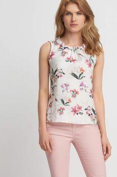 Květované tričko