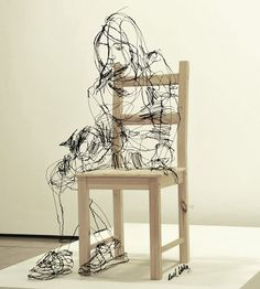 outstanding wire sculptures a wiry collection