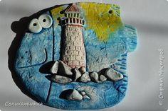 Поделка изделие Лепка Загадочная морская рыба или  пендели Волшебные пендели Тесто соленое фото 1