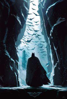 Imaginary Gotham - The art of Batman and his Universe. Le Joker Batman, Batman Dark, Batman The Dark Knight, Batman Arkham, Batman Robin, Batman Batcave, Funny Batman, Spiderman, Batman Painting