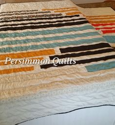 Modern quilt pieced by Jayna.  Longarmed by Le Ann Weaver of Persimmon quilts.
