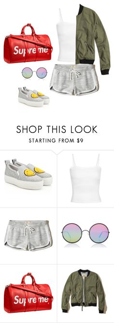 """""""Supreme"""" by audrey-balt on Polyvore featuring Joshua's, Hollister Co., Sunday Somewhere and Louis Vuitton"""