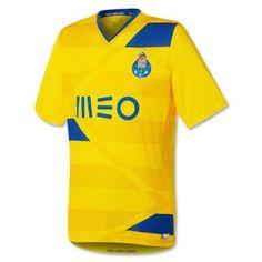 FC Porto Euro Yellow Soccer Jersey [F758]
