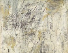 , 1954 por Cy Twombly (1928-2011, United States)