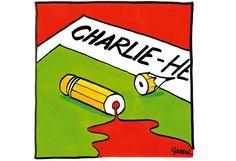 Des dessins pour Charlie | Courrier international