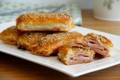 Napolitanas de jamón y queso - MisThermorecetas