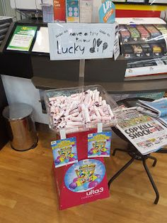 Lottery Tickets Lucky Dip   Entertainment Gambling Lottery Lucky-Draw Ticket